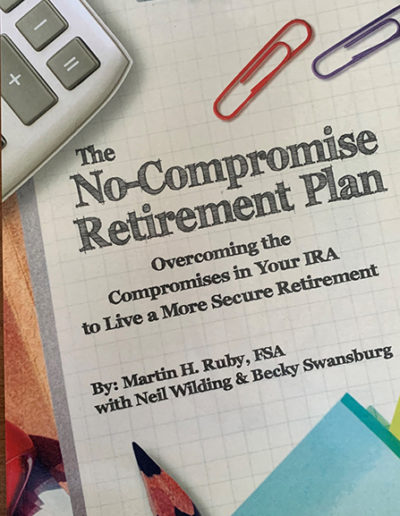Free Book offer designed to overcome compromises in IRA.
